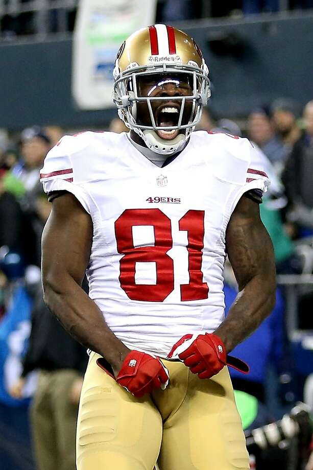 Wide receiver Anquan Boldin will remain with the San Francisco 49ers after signing a 2-year deal. Photo: Christian Petersen, Getty Images