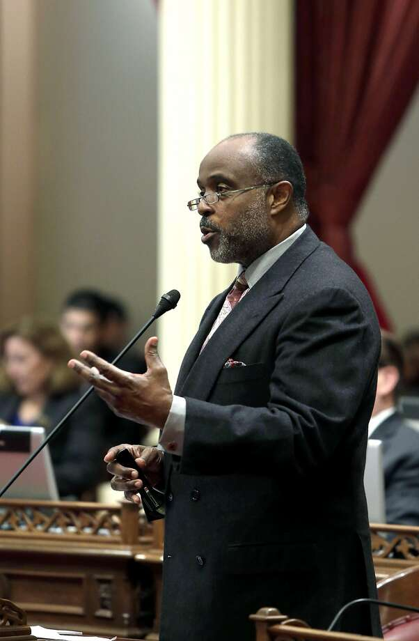 State Sen. Roderick Wright, D-Inglewood (Los Angeles County),  is on leave awaiting a judge to validate a conviction. Photo: Rich Pedroncelli, Associated Press