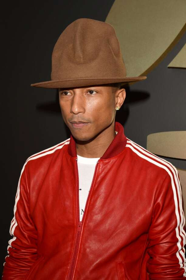 LOS ANGELES, CA - JANUARY 26:  Singer Pharrell attends the 56th GRAMMY Awards at Staples Center on January 26, 2014 in Los Angeles, California.  (Photo by Lester Cohen/WireImage) Photo: Lester Cohen, WireImage