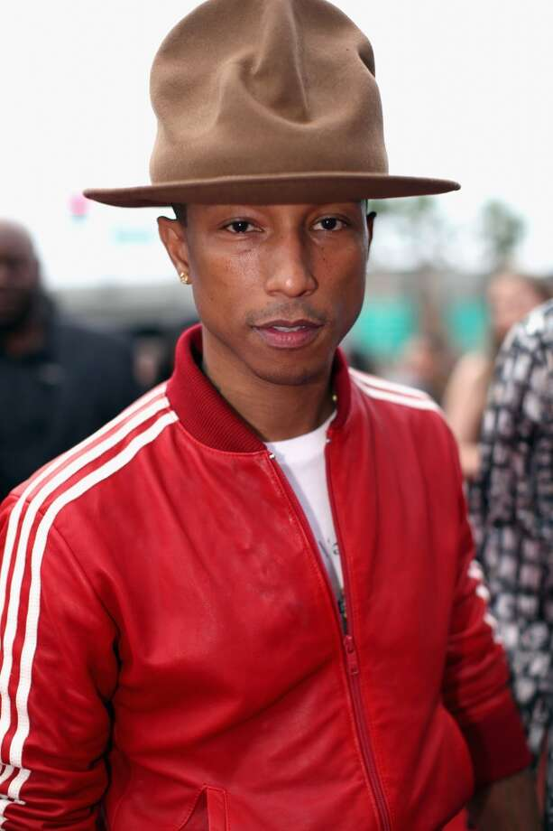 LOS ANGELES, CA - JANUARY 26:  Recording artist Pharrell Williams attends the 56th GRAMMY Awards at Staples Center on January 26, 2014 in Los Angeles, California.  (Photo by Christopher Polk/Getty Images for NARAS) Photo: Christopher Polk, Getty Images For NARAS