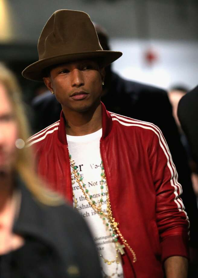 LOS ANGELES, CA - JANUARY 26:  Musician-producer Pharrell Williams attends the 56th GRAMMY Awards at Staples Center on January 26, 2014 in Los Angeles, California.  (Photo by Christopher Polk/Getty Images) Photo: Christopher Polk, Getty Images