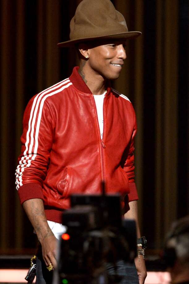 LOS ANGELES, CA - JANUARY 26:  Musician-performer Pharrell Williams appears onstage during the 56th GRAMMY Awards at Staples Center on January 26, 2014 in Los Angeles, California.  (Photo by Kevin Winter/WireImage) Photo: Kevin Winter, WireImage
