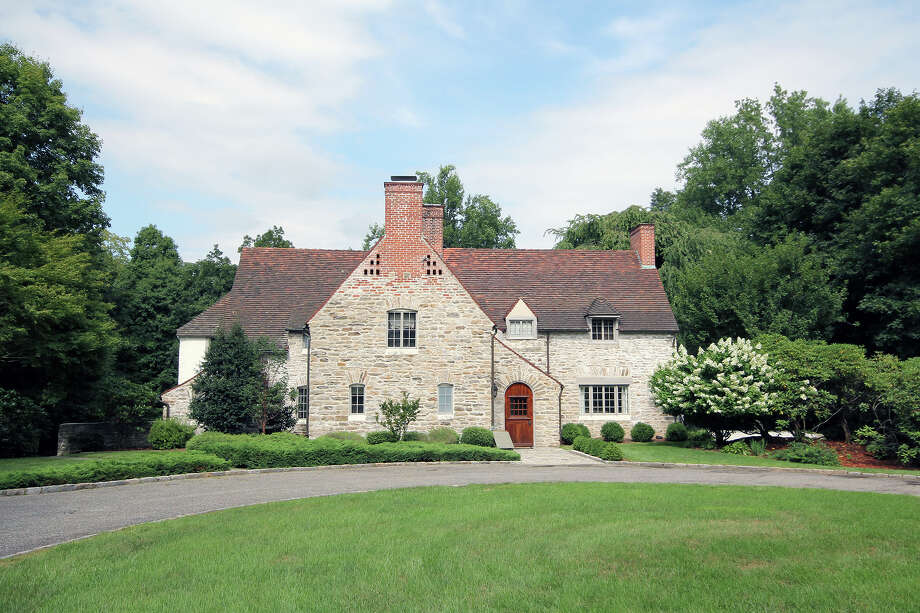 The house at 28 Sylvan Road North is on the market for $2,185,000. Photo: Contributed Photo / Westport News