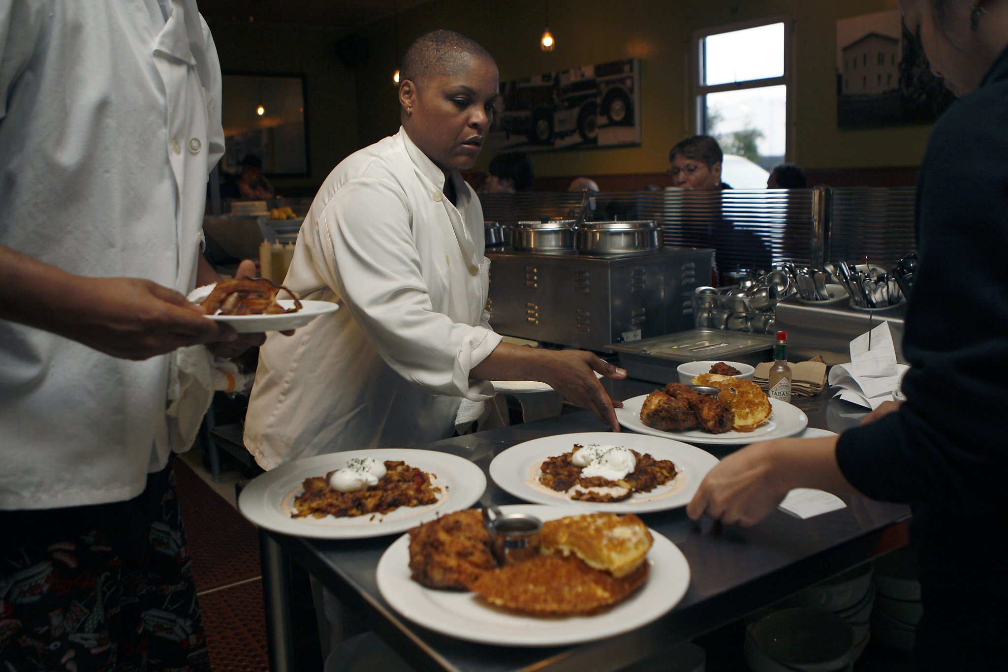 Oakland chef tanya holland ready for the big stage sfgate for American cuisine restaurants in dc