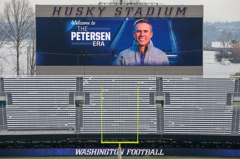 Five things to watch: Washington Huskies spring footballChris Petersen makes his on-field debut as the head coach of the Washington Huskies when the Dawgs gather at Husky Stadium on Tuesday for the first spring practice of 2014. While spring ball is generally a time for program observers to read too much into every session, each member of this Huskies squad will need to make an impression on Petersen and the new staff during the spring to earn a spot on the field in the fall.In five years under former coach Steve Sarkisian — now at USC —  the Huskies went from Pac-12 doormat to the Top 25. How will they fare under Petersen, whose move to Montlake was considered a coup by most experts? We'll find out starting Tuesday. Click through the gallery to see what we'll be watching as the Dawgs see their first action under the new regime on Lake Washington. Photo: Otto Greule Jr, Getty Images