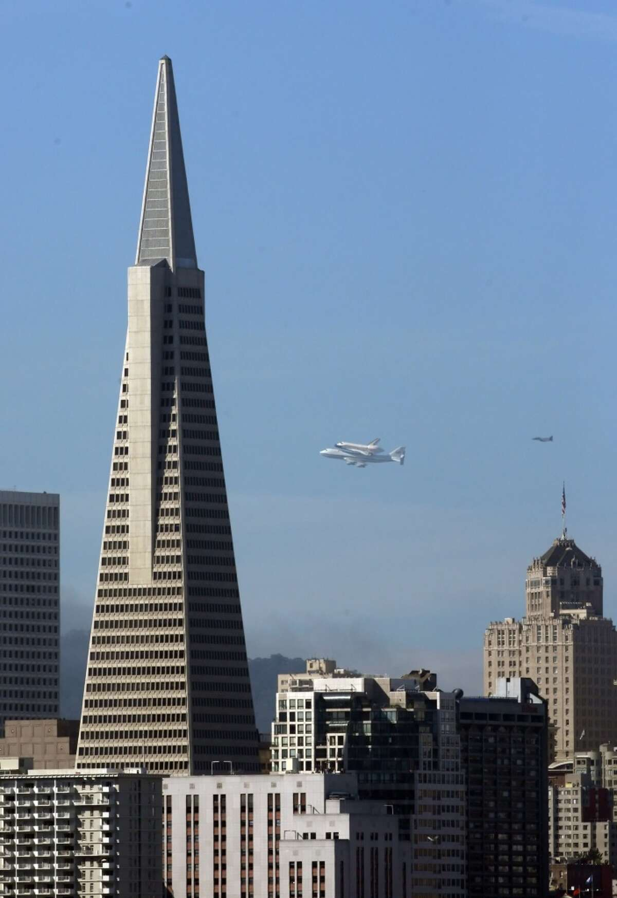 Transamerica Pyramid: As one of the tallest and most distinct buildings in S.F., the Transamerica Pyramid always stands out. According to Transamerica Pyramid officials, 4,000 to 5,000 people visited the Pyramid from April 2013 to December 2013.