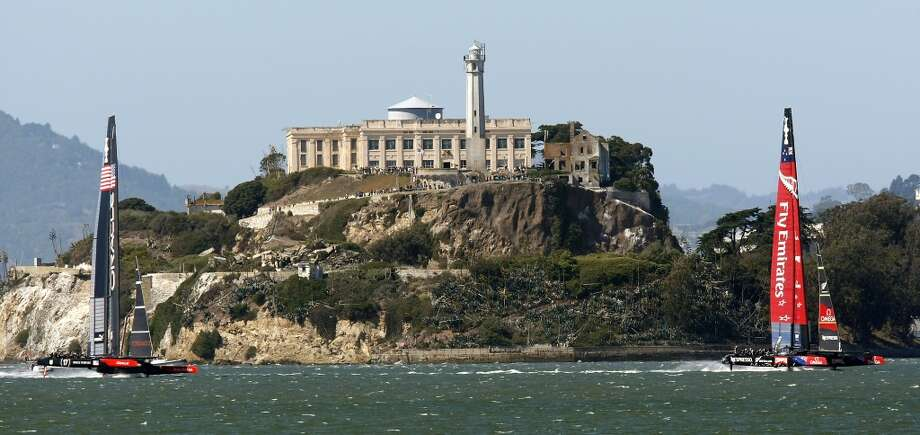 Alcatraz:Alcatraz, home of the famous federal prison that housed criminals like Al Capone, is a fun and interesting place to visit for locals and tourists alike. The island welcomes around 1.4 million visitors every year, according to Alcatraz Cruises. Photo: Michael Short, The Chronicle