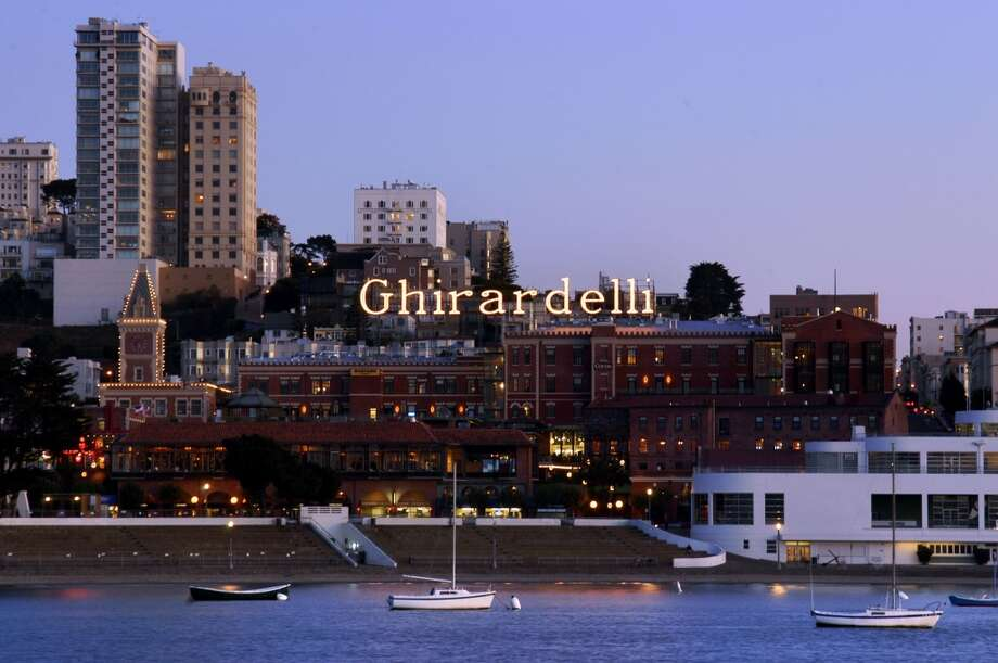 Ghirardelli Square: Who wants Ghirardelli chocolate sundae? Apparently, millions do. Ghirardelli Square, one of the biggest tourist locations in the Fisherman's Wharf area, attracts around 3 to 5 million visitors annually. Photo: Fairmont Heritage Place
