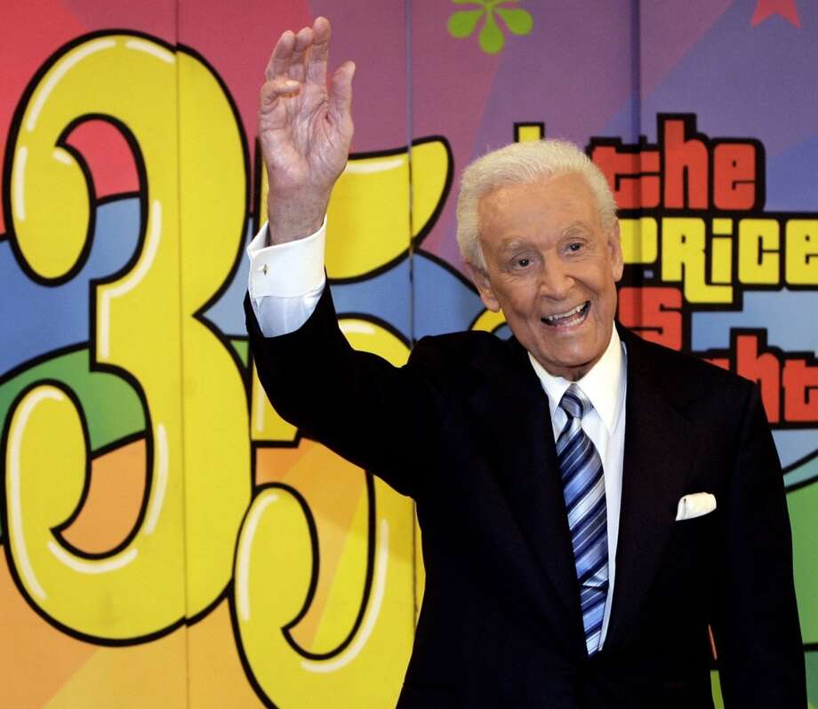 Bob Barker, seen here, is very much alive despite what a hoax news story would have you believe. Click through to see what other celebs have endured death hoaxes... Photo: Damian Dovarganes, Associated Press