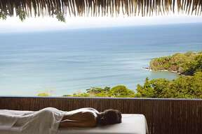 Top Eco Retreats   1.  Lapa Rios   (Peninsula de Osa, Costa Rica)     This is the promised land for nature lovers. — Lonely Planet