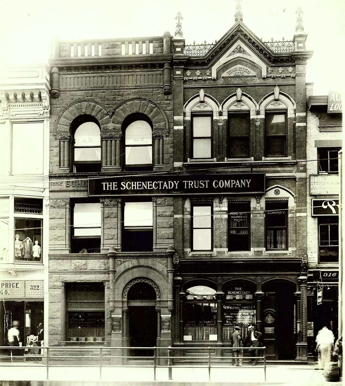 Click through the slideshow for more historic photos from Schenectady. Historic Schenectady: The Schenectady Trust Company on State Street, c. 1936.