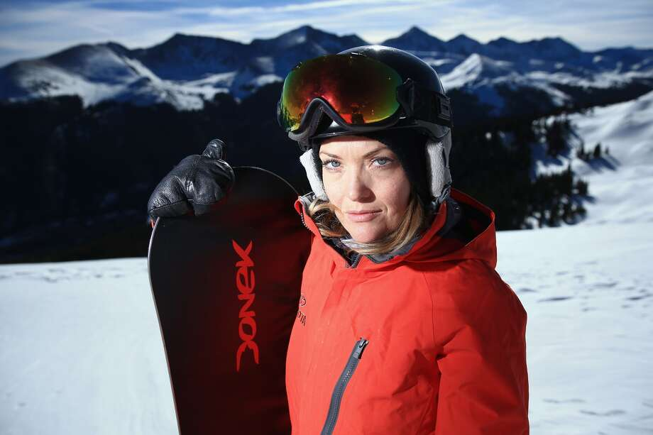 Double-amputee snowboarder Amy Purdy Photo: Getty Images