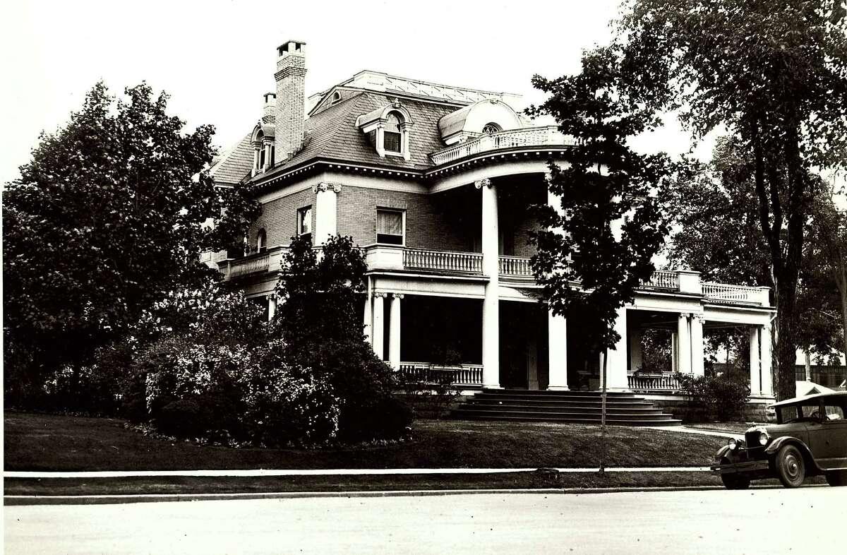 Historic Saratoga: Josiah G. Salisbury home, c. 1934.