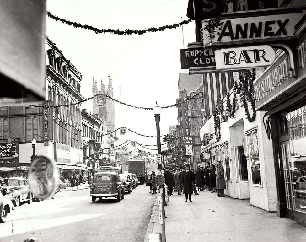 Broadway and Third Street, 1949.