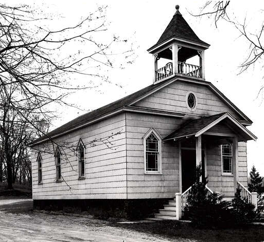 Historic Colonie: Pine Grove Methodist Church, 1950. / Times Union archive