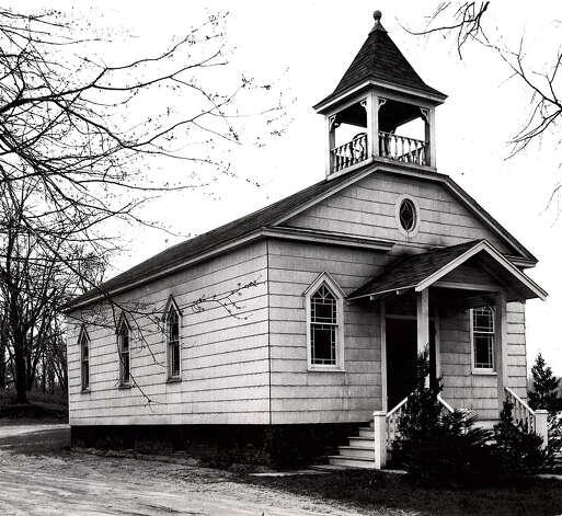 Historic Colonie: Pine Grove Methodist Church, 1950. / Times Union archive