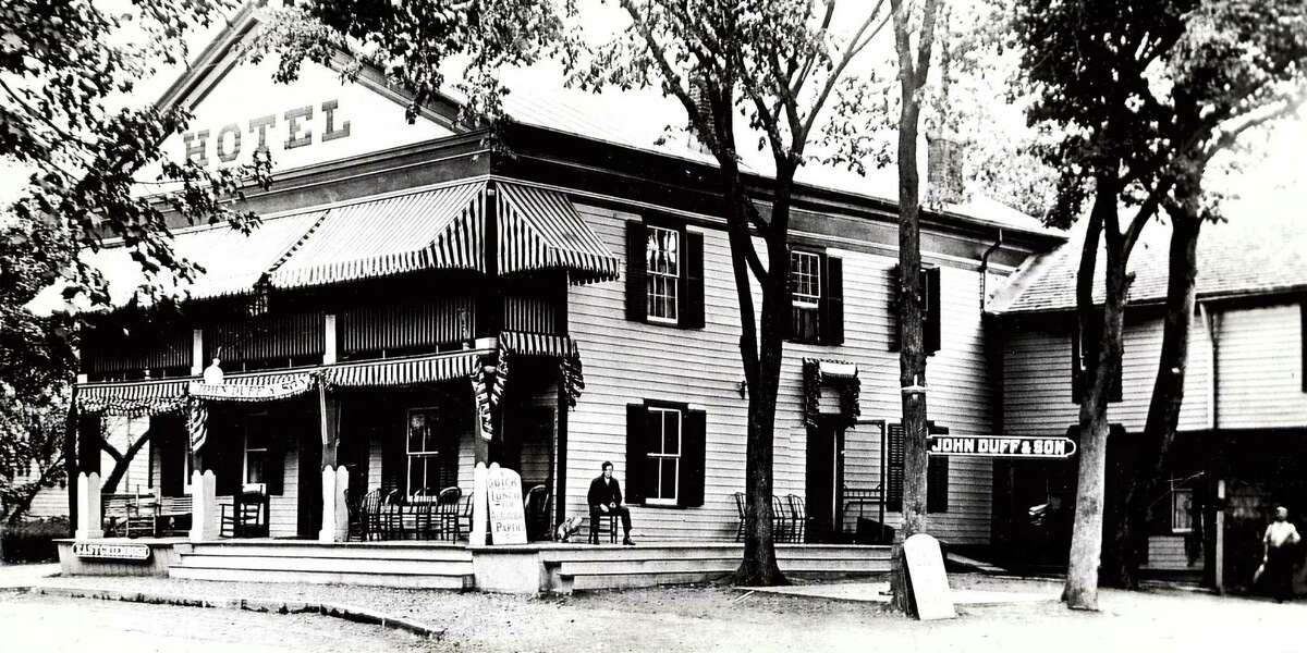 Historic East Greenbush: The East Greenbush Hotel, 1913.