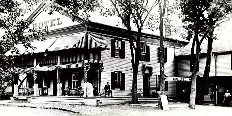 Historic East Greenbush: The East Greenbush Hotel, 1913. / Times Union archive