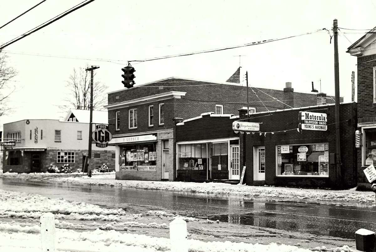 Historic East Greenbush: Main Street, 1951.