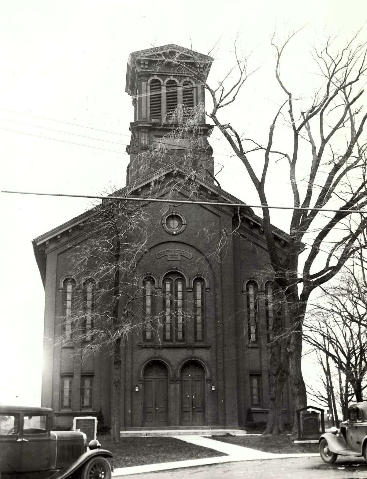 Historic East Greenbush: The East Greenbush Reformed Church, 1934.