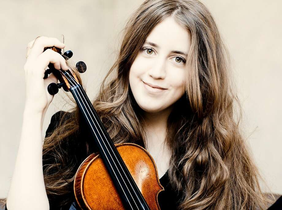 Violinist Vilde Frang soloed capably on Prokofiev with the St. Petersburg Philharmonic Orchestra. Photo: Marco Borggreve