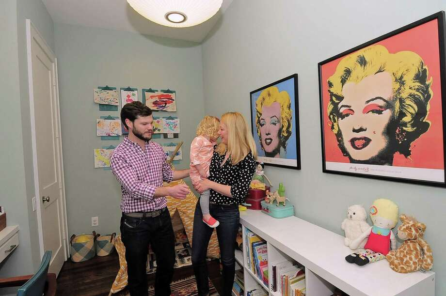 Jeff and Blair Ainsworth provided their daughter Jordan with this playroom in their Heights home which doubles as an office. Photo: Â Tony Bullard 2014, Freelance Photographer / © Tony Bullard & the Houston Chronicle