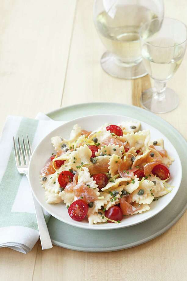 Creamy Smoked-Salmon Pasta, from Good Housekeeping Photo: Kate Sears