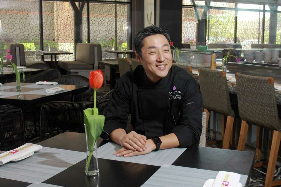 (For the Chronicle/Gary Fountain, February 21, 2014) Executive chef, owner Donald Chang at Nara. Photo: Gary Fountain, Freelance / Copyright 2014 Gary Fountain.