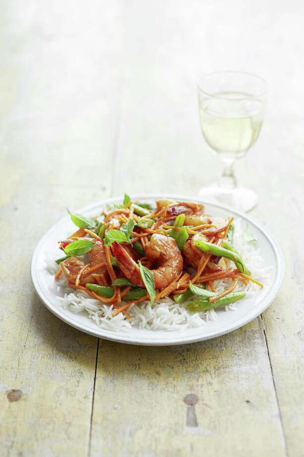 Thai Shrimp and Green Bean Curry, from Good Housekeeping Photo: Con Poulos
