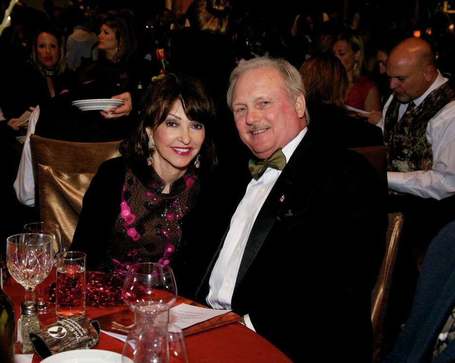 Judy and Glenn Smith at the Montgomery County American Heart Ball, March 1, 2014 Photo: Susan Lee