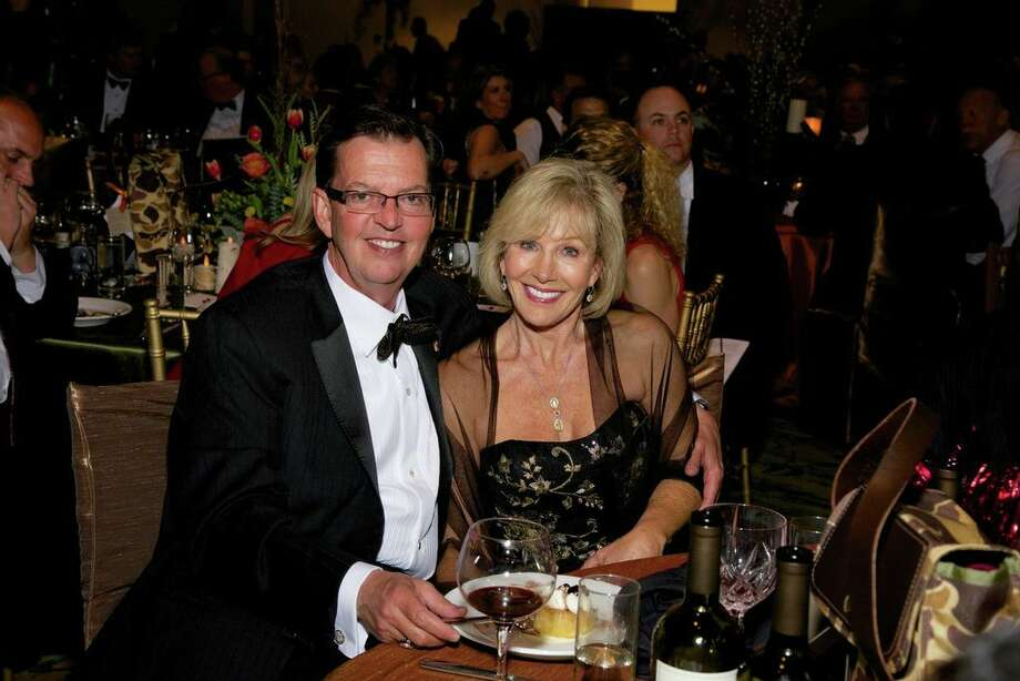 Richard and Sherry Lane at the Montgomery County American Heart Ball, March 1, 2014 Photo: Susan Lee