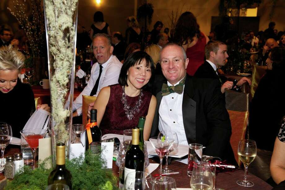 Janet Wong and Ron Mullins at the Montgomery County American Heart Ball, March 1, 2014 Photo: Susan Lee