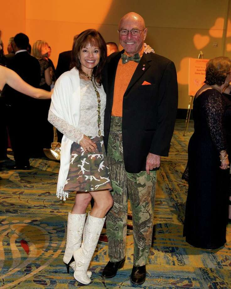 Candi and Gerald Glenn at the Montgomery County American Heart Ball, March 1, 2014 Photo: Susan Lee
