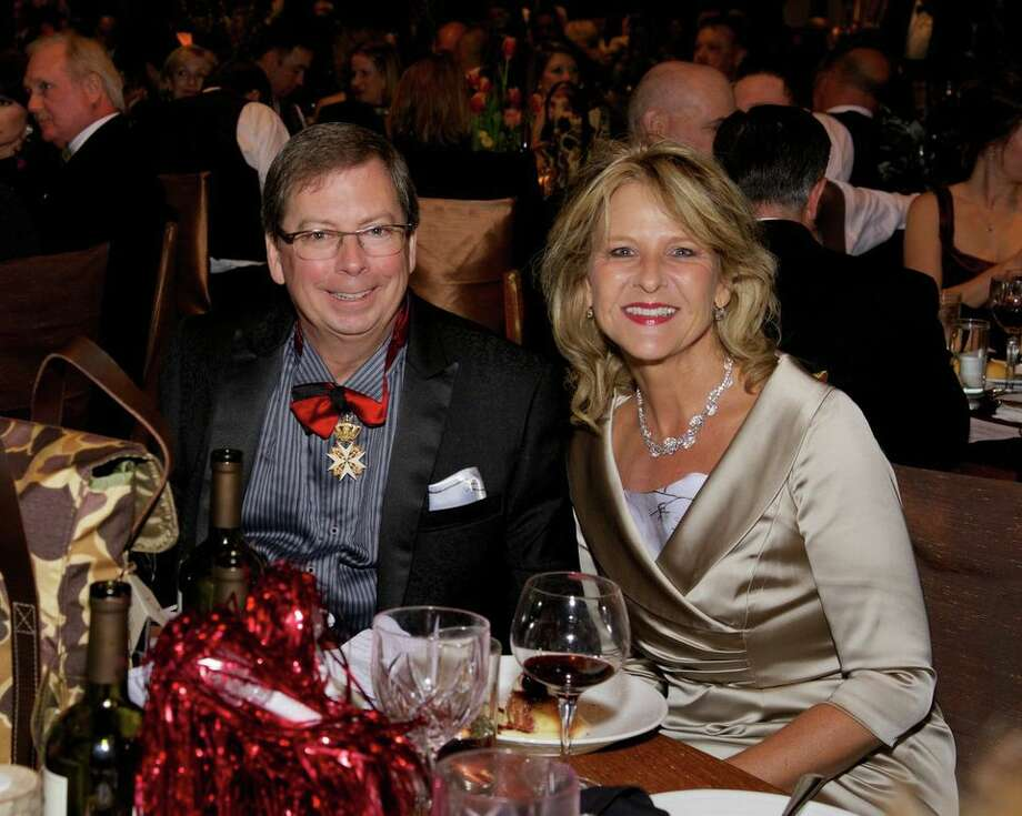 Mark Pharo and Charlotte Ammerman at the Montgomery County American Heart Ball, March 1, 2014
