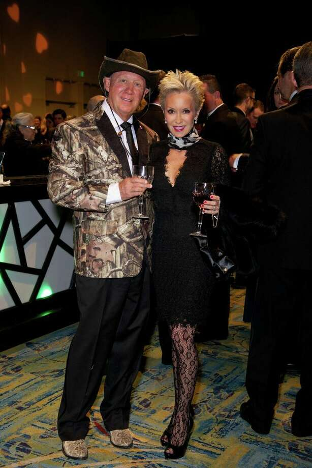George and Dianne Lindahl at the Montgomery County American Heart Ball, March 1, 2014 Photo: Susan Lee