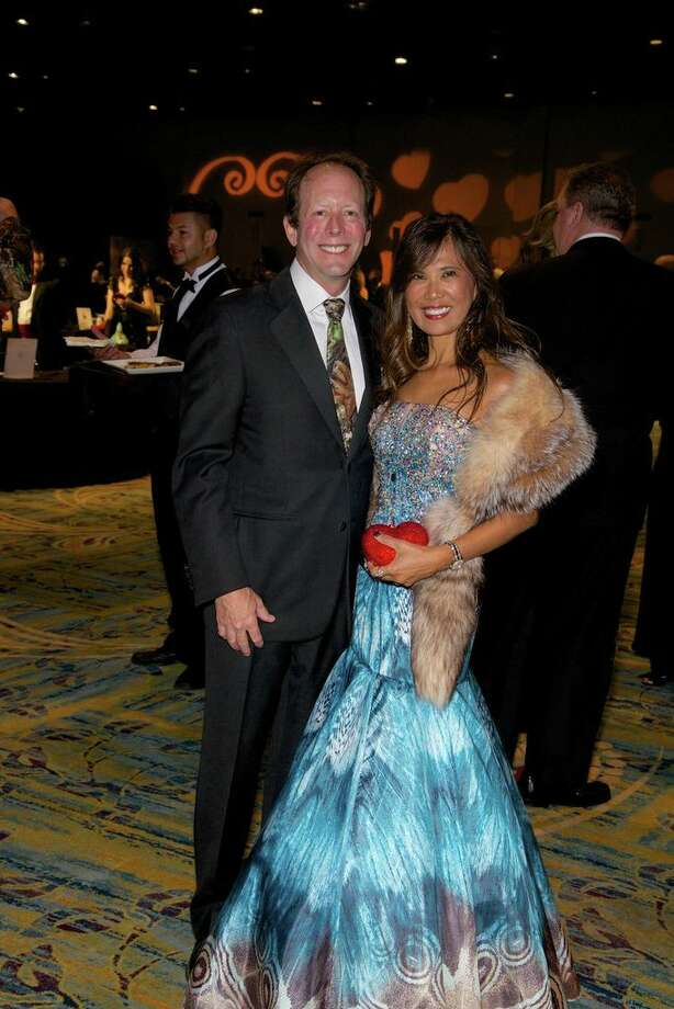 Soly and Dr. Bruce Lachterman at the Montgomery County American Heart Ball, March 1, 2014 Photo: Susan Lee