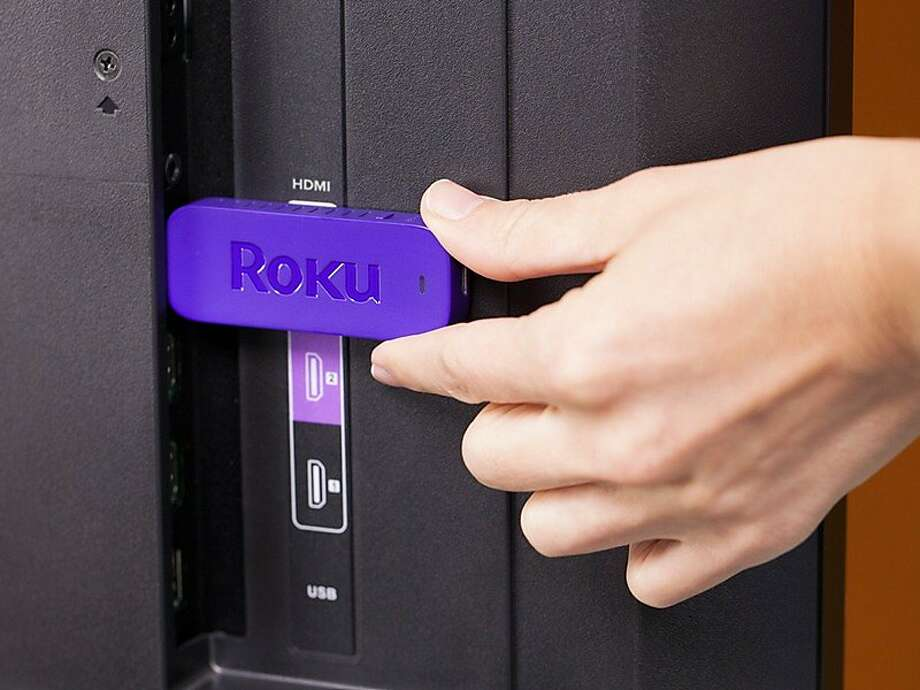 Roku Streaming Stick plugs into any TV with an HDMI input. It retails for $49. Photo: Roku