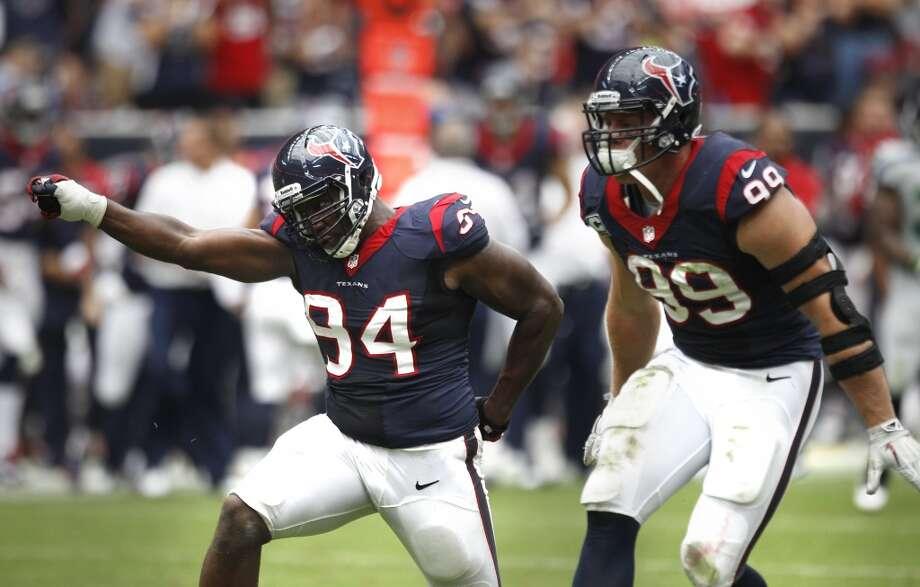 Antonio Smith  2013 team: Houston Texans  Age: 32  2013 stats: 30 tackles, 5 sacks, 1 forced fumble Photo: Brett Coomer, Houston Chronicle