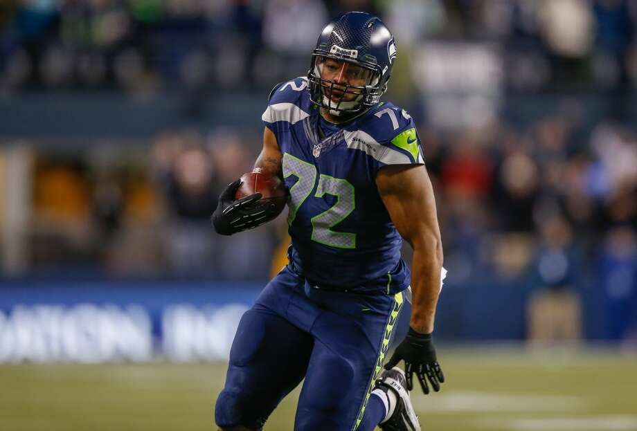 Michael Bennett  2013 team: Seattle Seahawks  Age: 28  2013 stats: 31 tackles, 8.5 sacks, 1 forced fumble Photo: Otto Greule Jr., Getty Images