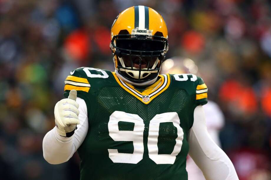 B.J. Raji  2013 team: Green Bay Packers  Age: 27  2013 stats: 17 tackles Photo: Ronald Martinez, Getty Images