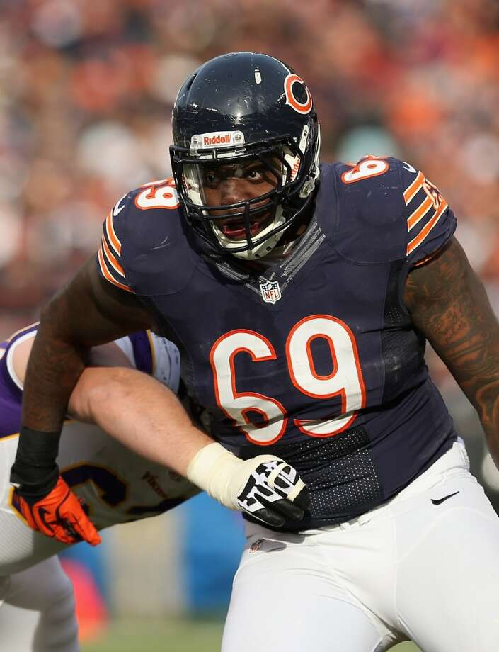 Henry Melton  2013 team: Chicago Bears  Age: 27  2013 stats: 5 tackles (missed 13 games with injury) Photo: Jonathan Daniel, Getty Images