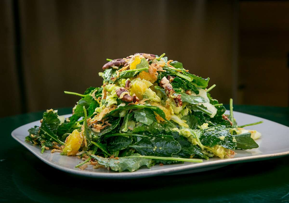 Everybody here eats kale salad--or at least feeds it to their pet rabbits.