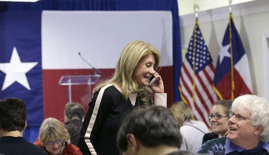 Democratic state Sen. Wendy Davis is Texas' first female nominee for governor since 1994. Photo: LM Otero, Associated Press