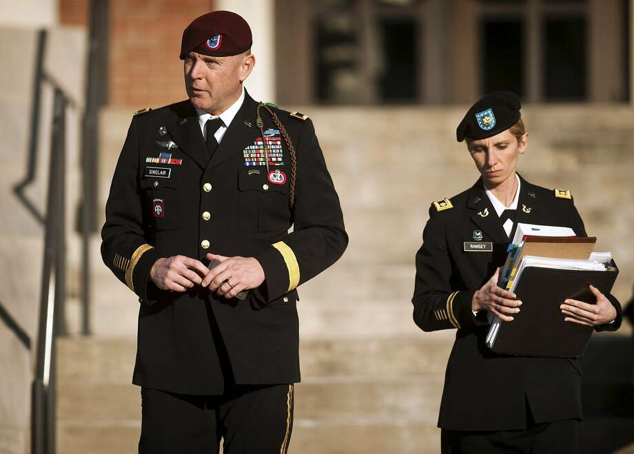 Army Brig. Gen. Jeffrey Sinclair faces multiple charges. Photo: Andrew Craft, Associated Press