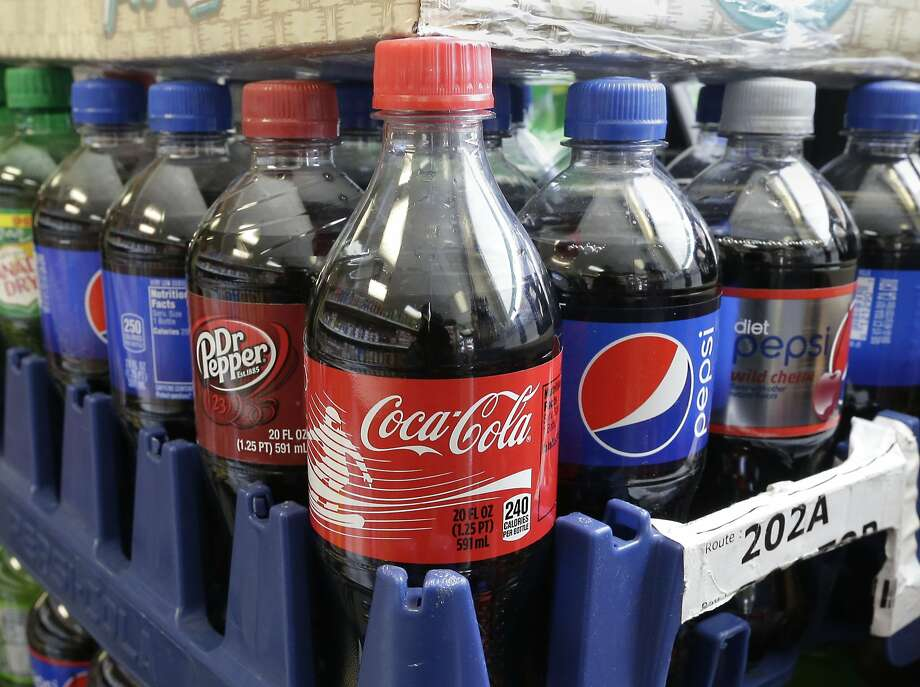 A proposed 2-cent-anounce tax on sugary beverages is shaking up the soda industry, which financed a glossy mailer far ahead of the November vote. Photo: Rich Pedroncelli, Associated Press