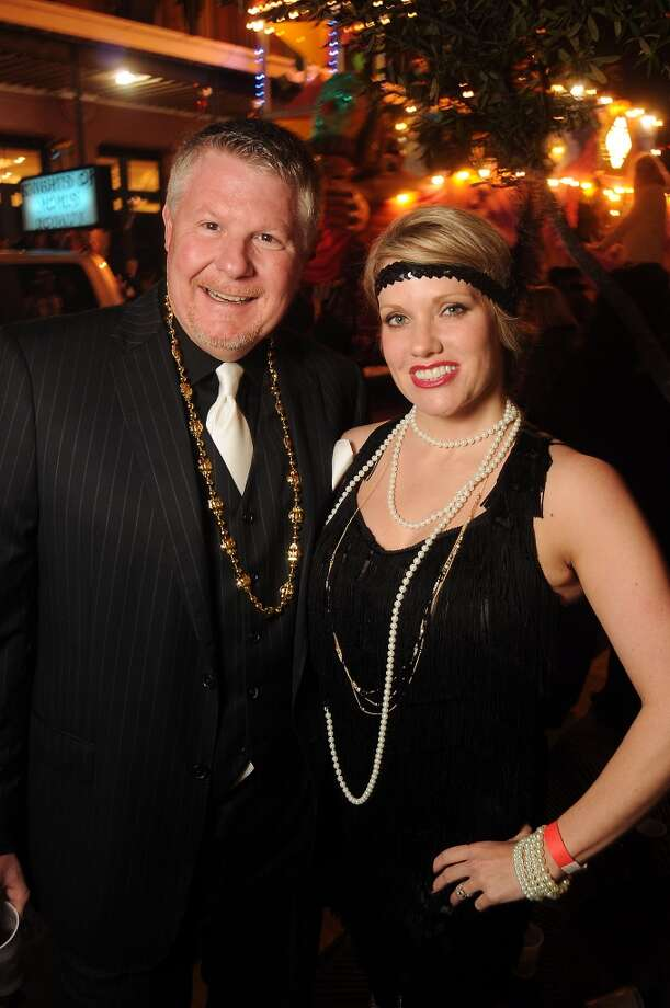 Kristy and Clyde Corey (Photo by Dave Rossman) Photo: Dave Rossman, For The Houston Chronicle