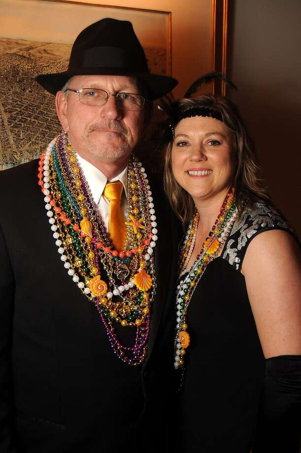 Alan and Katie Collins  (Photo by Dave Rossman) Photo: Dave Rossman, For The Houston Chronicle