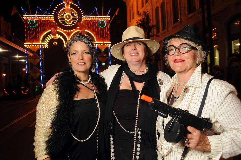 From left: Kara Moore, Joan Finn and Ann Simmons  (Photo by Dave Rossman) Photo: Dave Rossman, For The Houston Chronicle