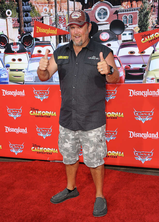 "Larry the Cable Guy attends the grand opening ""Cars Land"" at Disney's California Adventure on June 13, 2012 in Anaheim, California. (suggested by nickster56) Photo: Jason LaVeris, FilmMagic / 2012 Jason LaVeris"