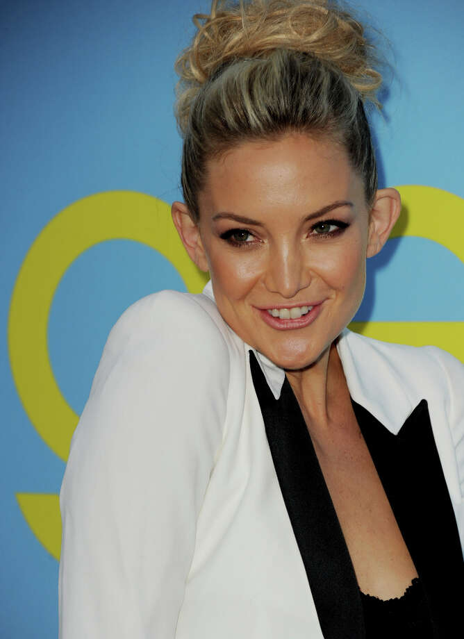 "Actress Kate Hudson arrives at the premiere of Fox Television's ""Glee"" at Paramount Studios on September 12, 2012 in Los Angeles, California. (suggested by drimblewedge) Photo: Kevin Winter, Getty Images / 2012 Getty Images"